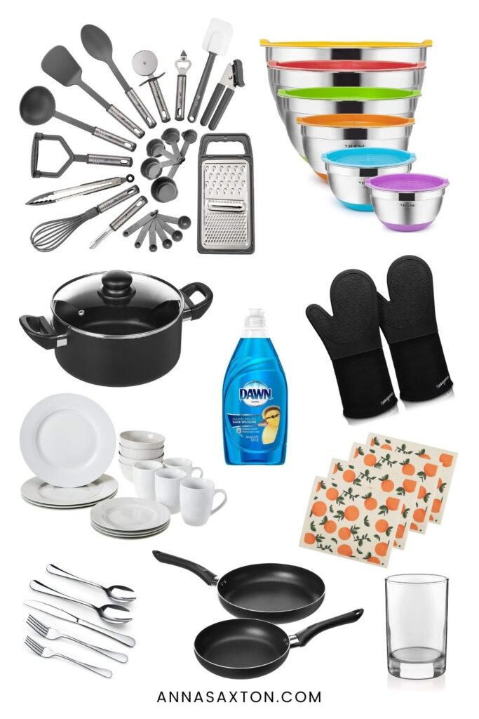 First Apartment Checklist The Stuff You Actually Need Anna Saxton